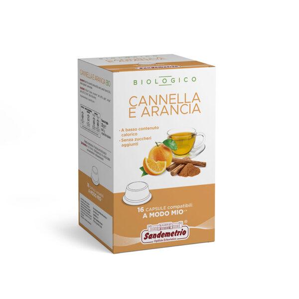Infuso Cannella e Arancia San Demetrio