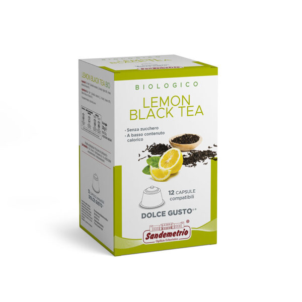 Te nero e limone Capsule Dolce Gusto San Demetrio