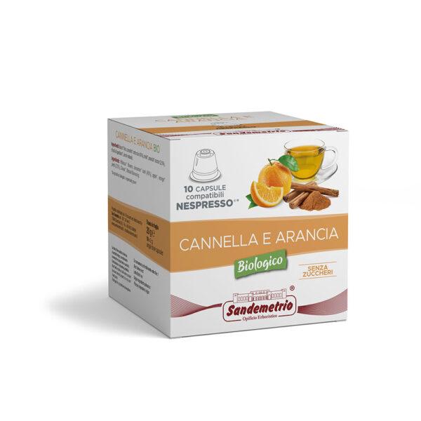 infuso Cannella e Arancia in Capsule Nespresso San Demetrio