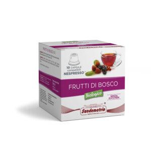 Infuso ai frutti di bosco in capsule Nespresso