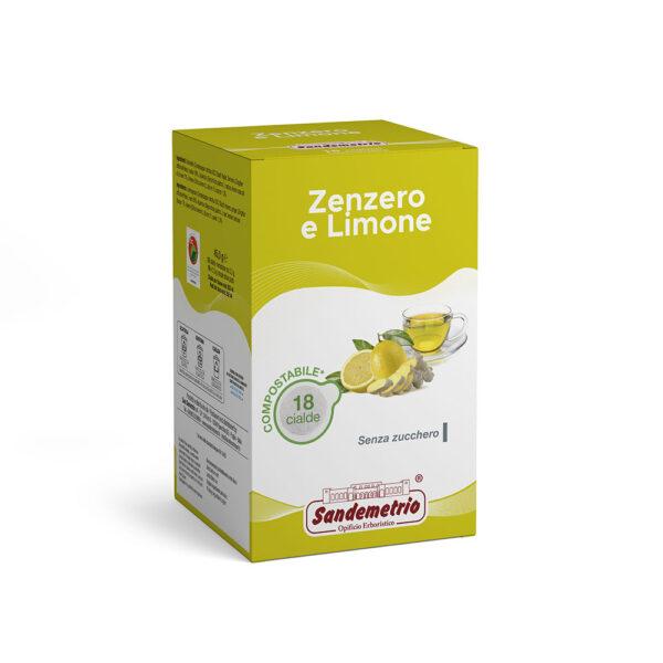 Infuso zenzero e limone in cialde ese 44
