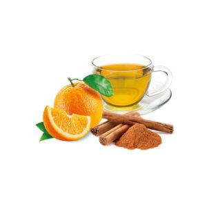 infuso alla frutta in cialde cannella e arancia