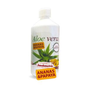 Succo di Aloe Vera con Ananas e Papaya